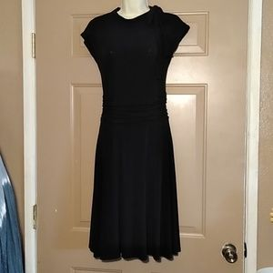 NWOT FOLTER TIES AT NECK DRESS-SIZE SMALL